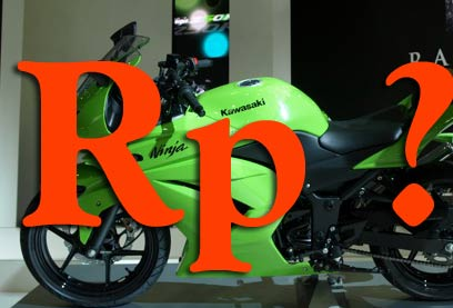 UPDATE Harga On the Road Ninja 250R Mei 5, 2008