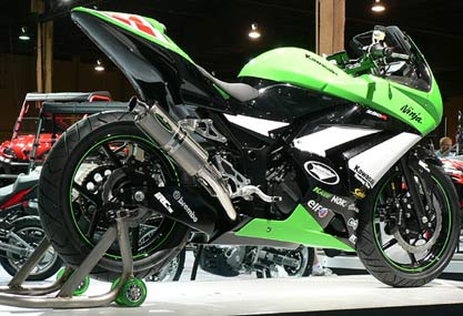 kawasaki ninja 250r modication