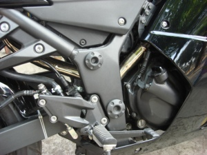 Ninja 250R Undertail Exhaus Modification
