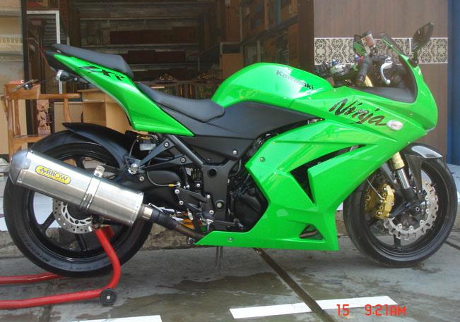 Picture of Ninja 250 Cc Modif
