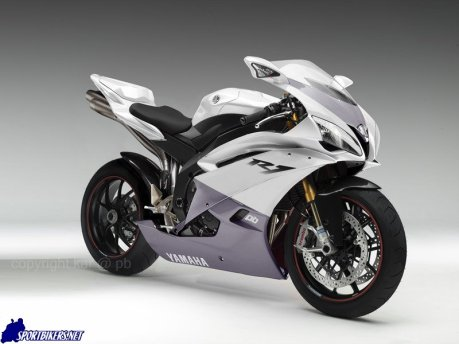 New Yamaha YZF R1 White Edition