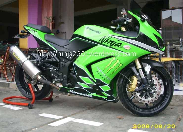 Picture Modifikasi Ninja 250cc