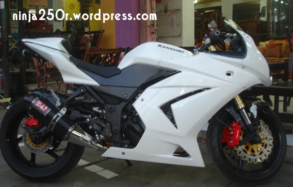 Photo of Kawasaki Ninja 4 Tak Modifikasi