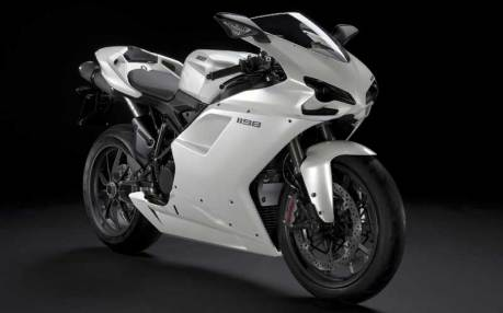 Ducati 1198 White Supersport Modification