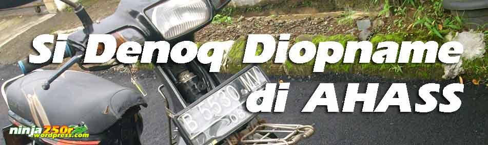 Welah-dalah Leg shield Putih Honda Grand HGP cuma Rp 60Rb Maret 31