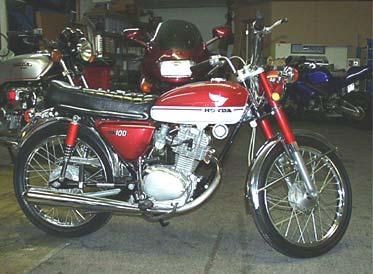 Modifikasi Standard Untuk Honda CB 100 - MODIFIKASI MOTOR