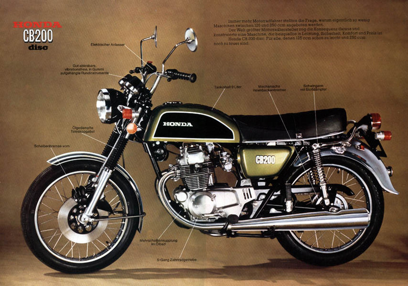 The Real Honda 200 cc Legend      TMCBlog   Motorcycle News