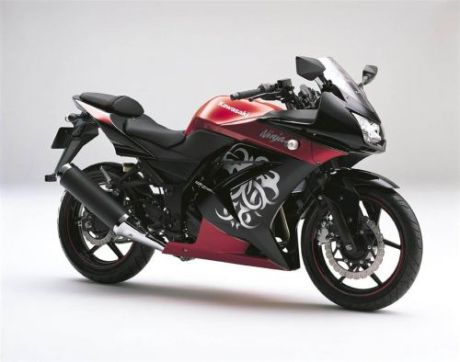New Kawasaki Ninja 250 R Tribal Edition 2010