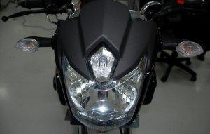 lampu scorpio baru
