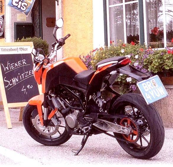 Ktm 200cc Duke. KTM Duke 200cc Release in