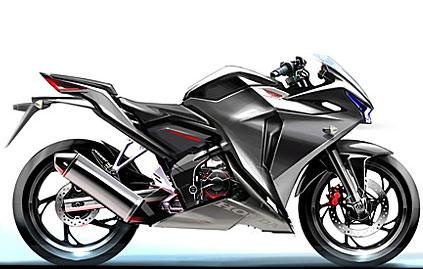 Sketsa Sketsa Awal Development Honda Cbr 250r Tmc Motonews