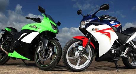 ShootOut Ninja 250R VS CBR 250R versi MCN