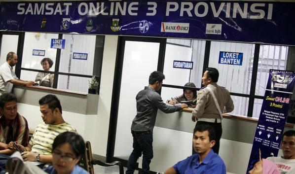 Samsat Online DKI jakarta-Banten-JaBar akan Diresmikan Hari ini April ...