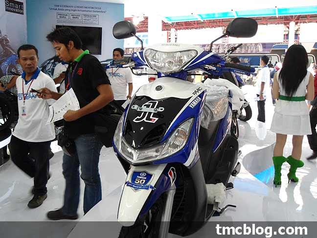 Kabar Booth Yamaha Di PRJ 2011 . . . Aura MotoGP