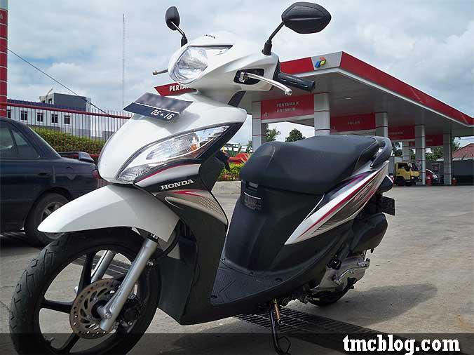 BBM Honda Spacy 2011 . . . 42,65 km per Liter Pertamax Juni 15, 2011
