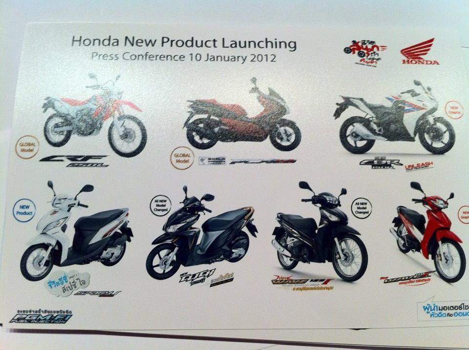 Honda Thai rencanakan Rilis 7 Motor . . . PCX 150 di Maret 2012