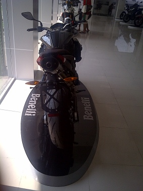 Benelli Century Race Rear View Full