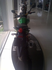 Benelli Dragon 150 Back