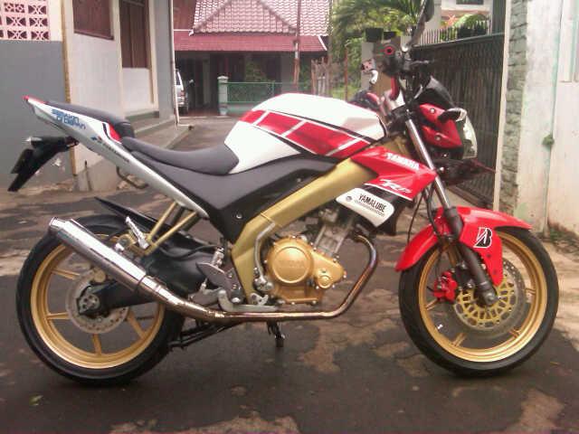 Modifikasi Vixion 50th Anniversary Yamaha | TMCBlog - Motorcycle News