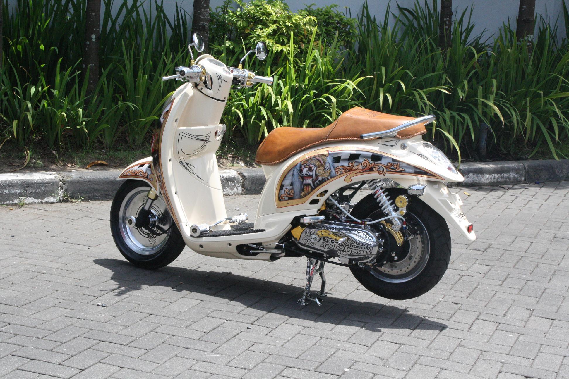 Koleksi Foto Modifikasi Motor Scoopy Thailand Terbaru Griya Modifikasi