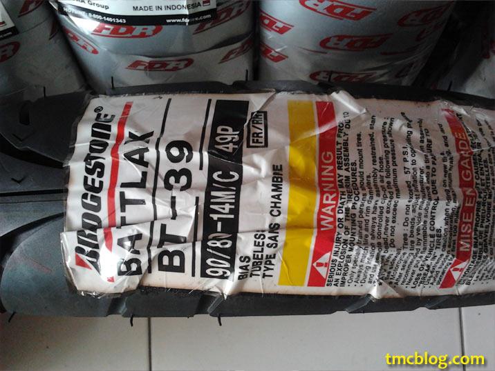 Ban Tubeless 321 ALL NEW HARGA BAN TUBELESS BATTLAX VARIO 125