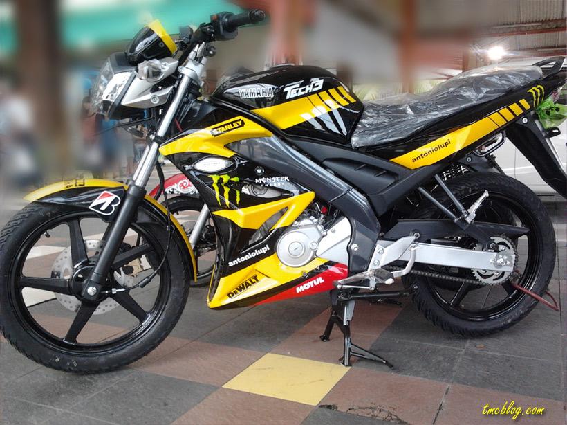Yamaha Vixion 2012 Tech3 MotoGP Livery Special Edition November 18 ...