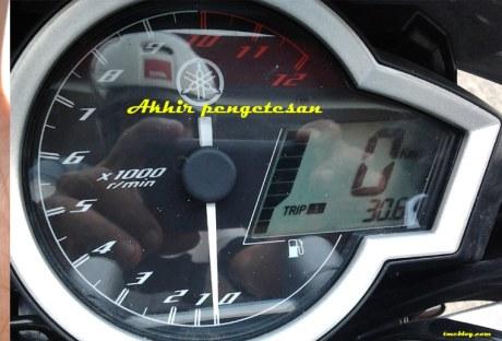 Test Konsumsi Bahan Bakar Yamaha New Vixion . . . 51 km/liter Premium