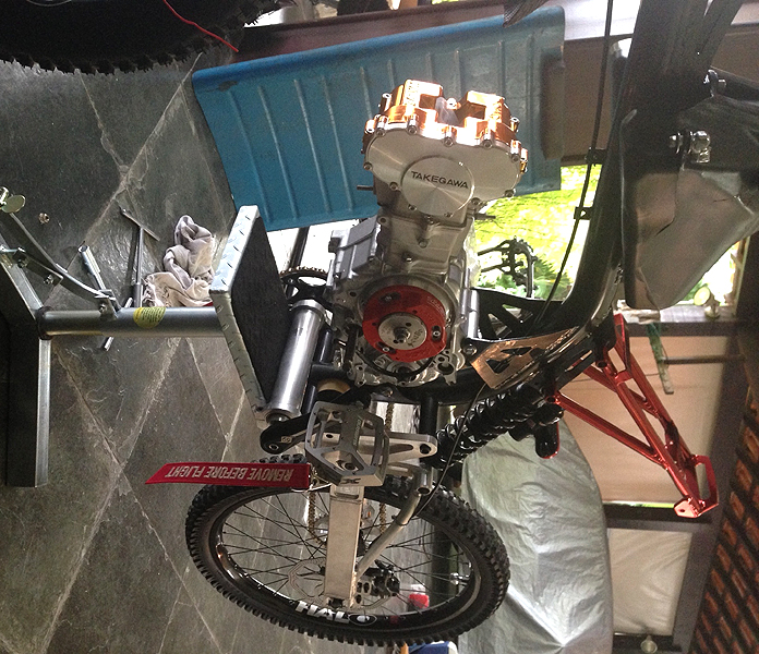Sepeda Gowes Trail Bermesin Motor MotoPed