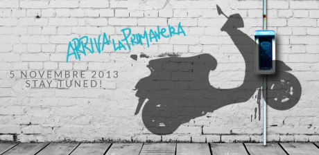 Vespa Primavera arriva 5th November