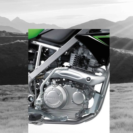 KLX150L_mesin