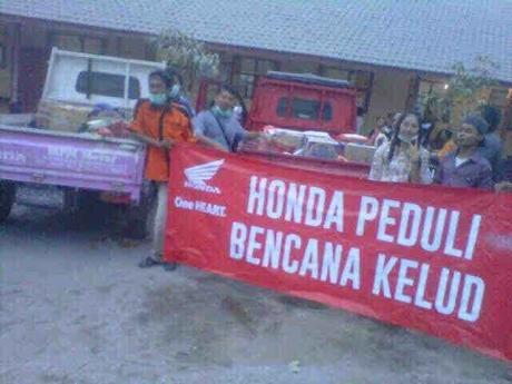 Honda Perduli Kelud