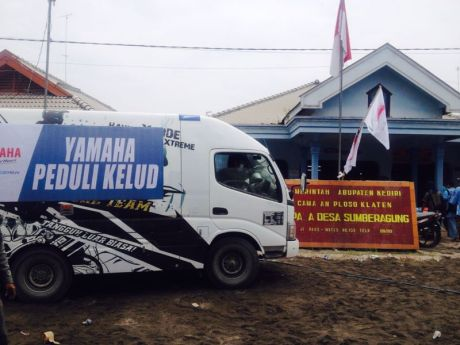 Yamaha Peduli Kelud 3