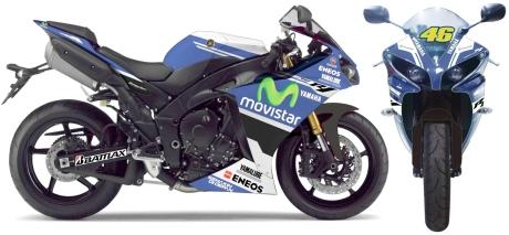 YZF-R1 MotoGP Special Edition (emblem gold)