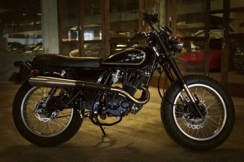 Motor hasil custom 250 cc asal usa masuk indonesia for Usa motors cleveland ohio