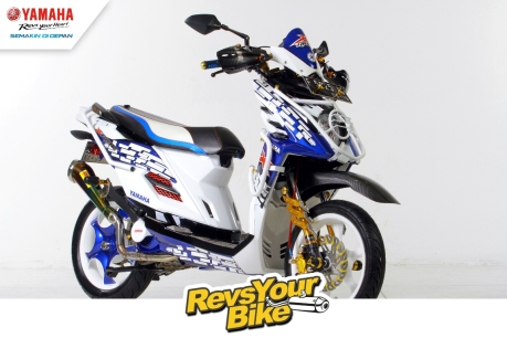 Pemenang Favorit Revs Your Bike - Dynamic and Sporty X-Ride